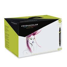 prismacolor marker set buy prismacolor brush marker set 200 colors