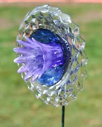 best 25 glass garden flowers ideas on pinterest yard art glass