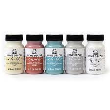 amazon com folkart metallic paint set 32 colors 23916