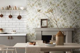 kitchen cabinet paint colors b q how to choose wallpaper for your kitchen kitchen magazine