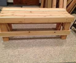 Wooden Bench Plan Bench Plans For A Wooden Bench Simple Wooden Bench Design Plans