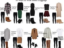 10 ways to wear black leggings my chic obsession