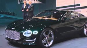 bentley exp 10 speed 6 new bentley exp 10 speed 6 sports coupe concept official live