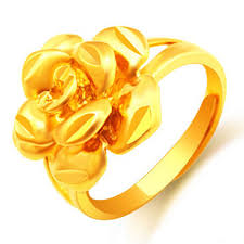golden flower rings images Buy mu qinmi 24k gold flower women flash tattoo sticker metallic jpg