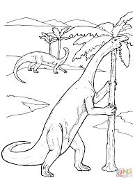 yunnanosaurus prosauropod dinosaur coloring page free printable
