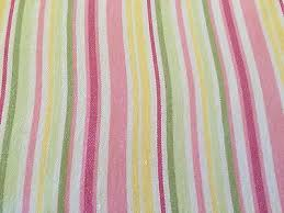 Pottery Barn Kids Shower Curtains Pottery Barn Kids Pink Green Yellow White Striped U0027s Shower