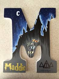 painted letter this is pretty great actually since my name is