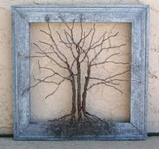 twisted wire tree sculpture tree of by kristinrebecca on etsy