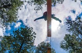 Backyard Zip Line Without Trees by Flagstaff Extreme U2013 Extreme Adventure Course