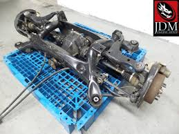 toyota altezza rs200 98 05 toyota altezza rs200 sxe10 rear sub frame diff assembly jdm