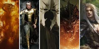 lord of the rings most powerful beings ranked screen rant