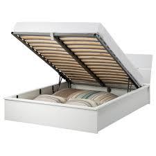 materasso matrimoniale ikea prezzi herdla struttura letto con contenitore bianco 140x200 cm ikea