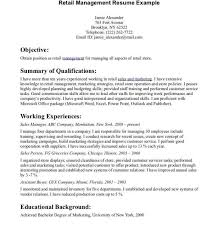 sle resumes for management positions retail management resume related post retail management resume