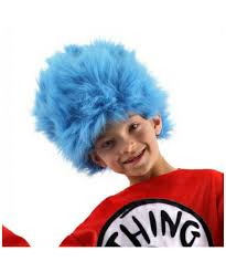 wigs for halloween thing one thing two wig kids wig halloween wig at wonder costumes