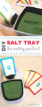 diy salt writing tray for preschool fine motor activities jules u0026 co