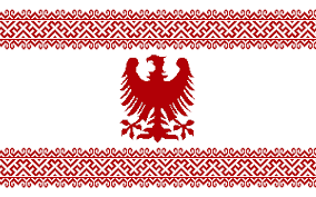 redo alternate flag of poland with slavic embroidery vexillology