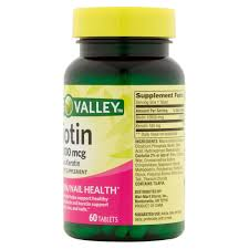 spring valley biotin tablets 10 000mcg 60 ct walmart com