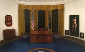 100 trump redecorates oval office gold democratic