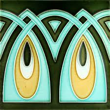 Art Deco Tile Designs 530 Best Tiles Images On Pinterest Art Nouveau Tiles Art Tiles