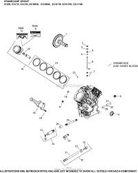 kohler ech730 3035 exmark 25 hp 18 61 kw parts diagram for