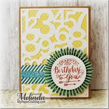 my paper crafting com birthday card with free svg