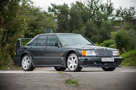 mercedes auction ultra low mileage mercedes 190e evo ii heads to auction