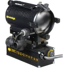 dedolight 150w focusing light head with dimmable dlhm4 300u b u0026h