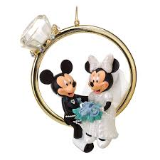 minnie and mickey mouse ornament shopdisney