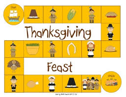 generic thanksgiving board november speech therapy ideas