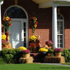 autumn decorations outdoor fall decorating ideas for your front porch and beyond