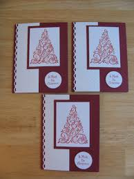 handmade christmas card ideas s annual day stamping with blue moon