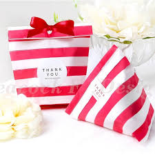 wedding goodie bags 18 13cm 50pcs tripe paper bag for party wedding birthday candy