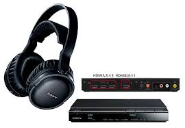 amazon com sony mdr hw700ds sony mdr ds7500 hdmi including passthrough dts hd ma dolby