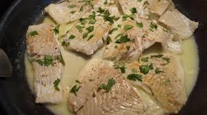 cuisiner le lieu noir filet de lieu noir sauce beurre et citron