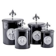 kitchen canister sets black black kitchen canisters jars you ll wayfair