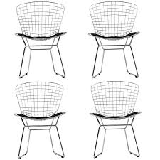 amazon com modway cad dining chairs set of 4 in black chairs