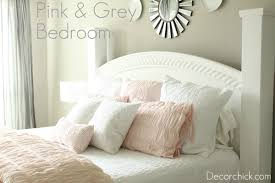 Gray And Pink Bedroom by Our New White Pink And Grey Bedroom Decorchick
