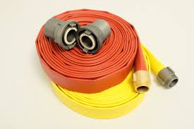 rubber covered 600 lb test rawhide fire hose free shipping