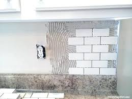 installing kitchen backsplash tile how to install a kitchen the best and easiest tutorial kitchen