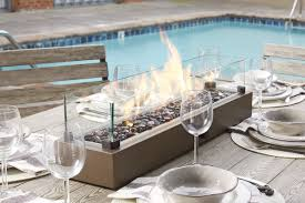 table top fireplace the tabletop fireplace hammacher schlemmer