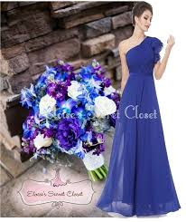wedding wishes dresses 136 best cobalt sapphire blue bridesmaid dresses images on
