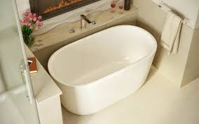 photo 2 of 6 in five petite modern freestanding bathtubs from