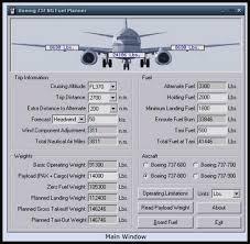 b737 fuel management program journal flaps 2 approach