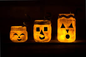 how to make jack o u0027lantern nightlight jars