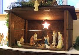 Outdoor Lighted Nativity Sets For Sale Best 25 Nativity Stable Ideas On Pinterest Nativity Scene