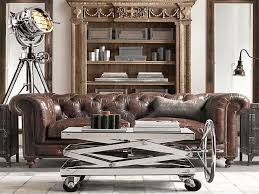 living room restoration hardware leather sofa best of kensington