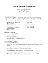 resume samples professional summary resume example skills and qualifications skills summary for