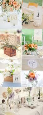 wedding table number holders 51 creative diy wedding table number ideas deer pearl flowers