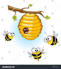bees beehive stock vector 49293541 shutterstock