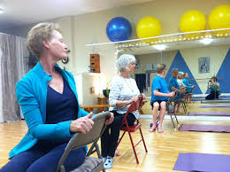 Chair Yoga Class Sequence Teaching Yoga To Seniors U0026 People With Osteoporosis Expanding Light